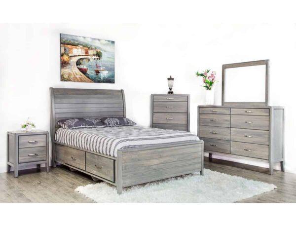 Sage Storage Bed