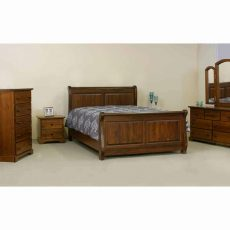 Kristal Panel Sleigh Bed