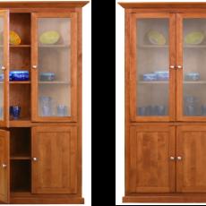 Alder Display Cabinet