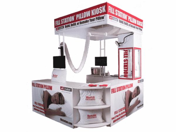 Fill Station Pillow Kiosk