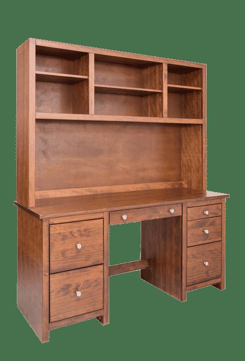 Large Double Pedestal Desk