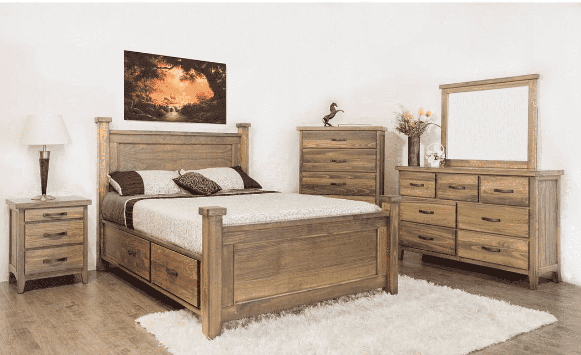 Natalie Storage Bed