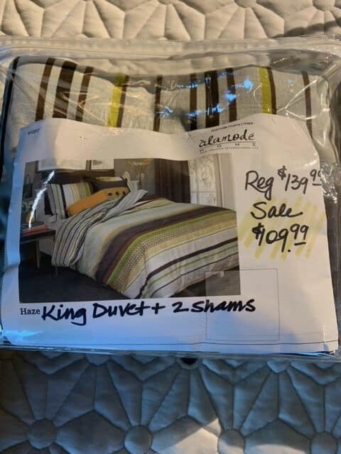 RJS King Bedding